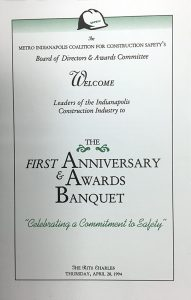 Photo of First Awards Program